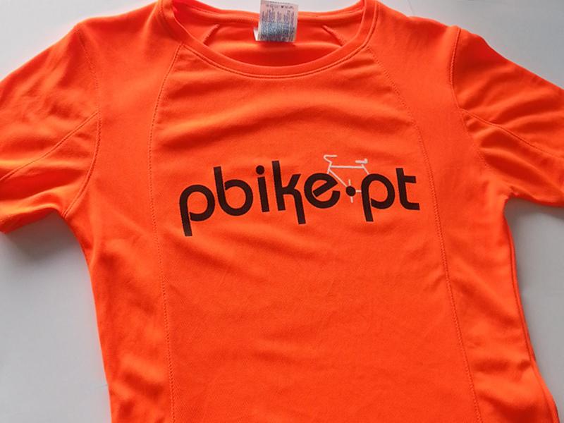 T-shirt Técnica impressa com transfer de serigrafia