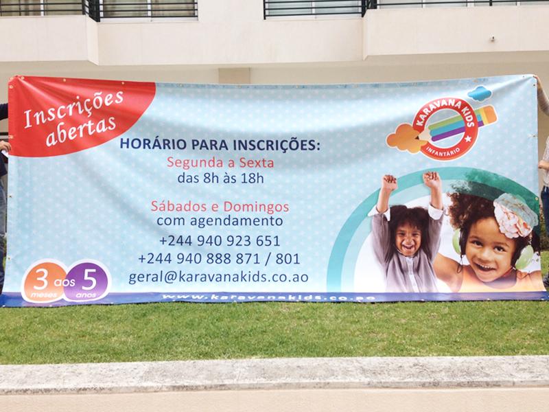 Tela para Infantário em Angola